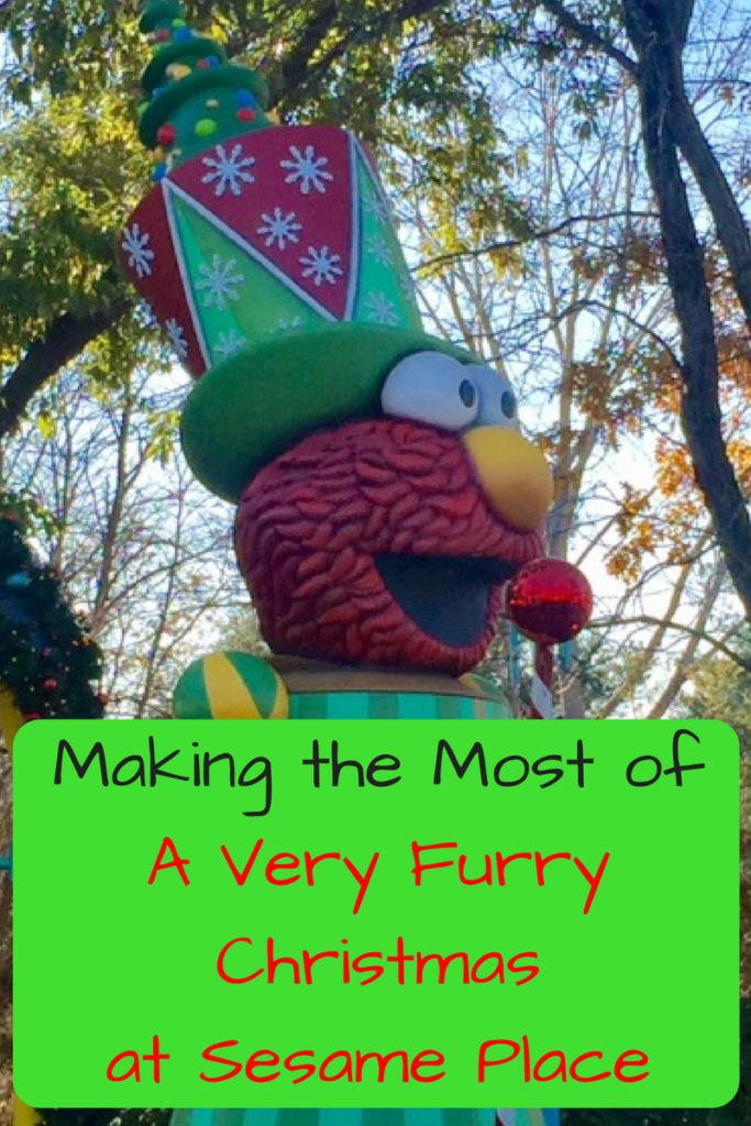 making the most of a very furry christmas and thanksgiving at sesame place photo - Furry Christmas