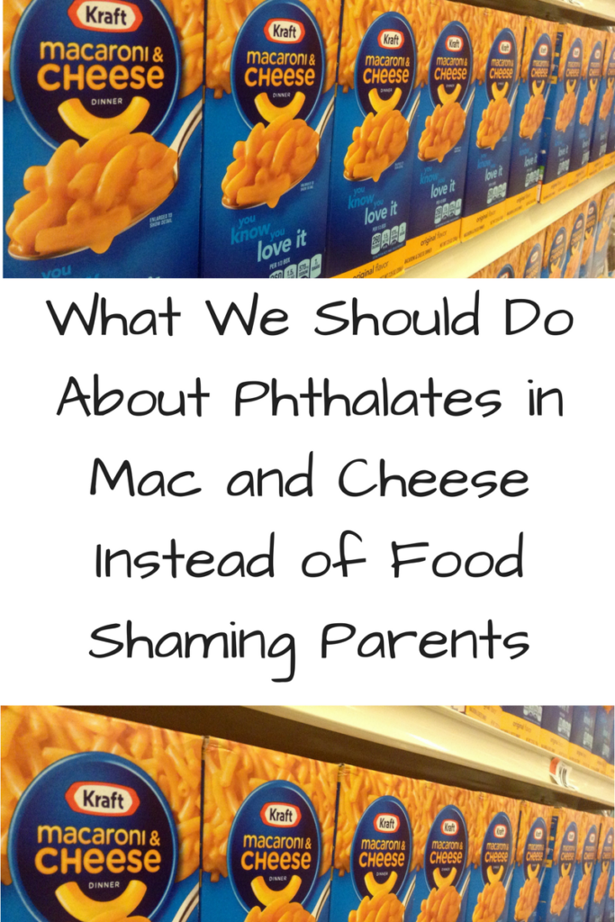 What We Should Do About Phthalates in Mac and Cheese. (Photo: Rows of boxes of Kraft Macaroni and Cheese on a shelf.)