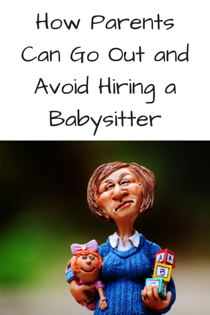 How Parents Can Go Out and Avoid Hiring a Babysitter. (Photo of a doll babysitter who looks vaguely grumpy and has a small child clinging to her leg.)