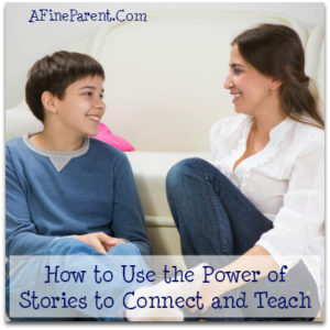 How to Use the Power of Stories to Connect and Teach (Photo: Boy and older woman sitting on a couch, smiling at each other)